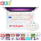 English Silicone EU Keyboard Cover Skin For Old Macbook Pro Air Retian 13 15 17