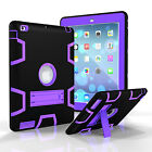 Kids Stand Shockproof Hybrid Armor Rubber Hard Case Cover For Apple iPad Mini 4