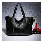 High Quality Solid Women Tote Bags Genuine Leather Cowhide Handbag Shoulder Bag