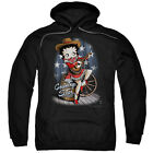 Betty Boop COUNTRY STAR Cowboy Hat & Boots Licensed Sweatshirt Hoodie $41.71 USD