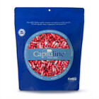 Capsuline Colored Gelatin Empty Capsules Size 2 Red/Clear