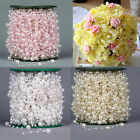 5M/60M Fishing Line Pearls Chain Pearl Beads Chain Garland Wedding Decoration