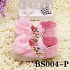 Infant Toddler NEW HOT 2017 Baby Girl Soft Sole Crib Shoes Sandals Newborn BS004