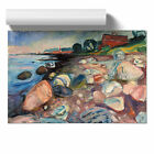 Poster Various Sizes Edvard Munch  The Shore with a Red House