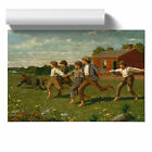 Poster Print Wall Art Winslow Homer Snap the Whip Landscape Painting Home Décor