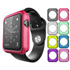 Soft Silicone TPU Bumper Frame Protective Case Cover For Apple Watch 1 38/42mm