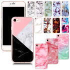 Luxury Marble Pattern Soft Tpu Ultra Slim Case Rubber Cover For Iphone 6s 7 Plus