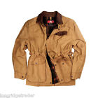 Mens Kakadu Pilbara Jacket Canvas Mustard conceal carry casual or work