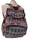 Hippy Aztec Cotton Backpack Rucksack Festival Handmade Boho Colourful Handbag