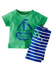2PCS/Set Newborn Infat Toddler Kids Boy Outfits Clothes Shirts Tops +Short Pants