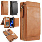 2in1 Leather Wallet Flip Case Removable Phone Cover for Samsung Galaxy Note 5