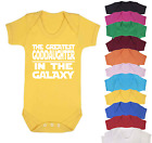 The Greatest Goddaughter Star Wars Inspired Baby Vest  Baby grow