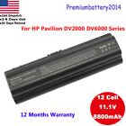 Battery for HP Pavilion DV2000 DV6000 DV6100 DV6500 DV6700 V3000 V6000 adapter