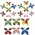 9 Colors Paper Magic Flying Butterfly Change From Empty Hands Freedom Card Trick