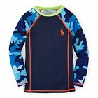 boys RALPH LAUREN UV50+ RASH GUARD / SWIMMING TOP SWIM  6/7Y  12/13Y BNWT