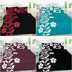 Floral Alyssa Printed Polycotton Duvet Set Quilt Bed cover single double king