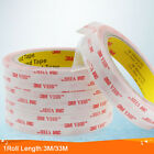 3M VHB #4910 Double-sided Clear Transparent Acrylic Foam Adhesive Tape Long 30M