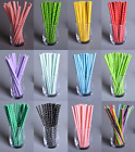 25pcs Mixed Drinks Paper Straws It's A Boy Girl Birthday Party Supplies S