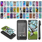 For HTC Desire 530 630 Hybrid Bumper Protective Hard TPU Case Cover + Pen