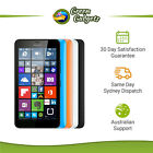 Microsoft Lumia 640 8GB Matte Black Cyan Orange White LTE Unlocked Smartphone