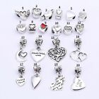 CHARMS EUROPEEN ALLIAGE METAL ARGENT POUR BRACELET MAILLE SERPENT CHA016