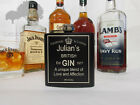 Personalised favorite Alcohol flask great for birthdays xmas fathers day etcHF18