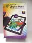 Crayola DigiTools Packs for ipads & 3-D  Pack - effects packs FREE P+P BN
