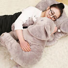Hot Long Nose Elephant Doll Pillow Soft Plush Stuff Toys Lumbar Pillow Baby Kids