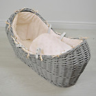 Luxury Thick Star Noah Pod Apples and Pears Izzy Pod Moses Basket Dressing