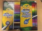 Crayola Super Tips Washable 24 Markers Limited Stock