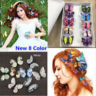 Внешний вид - 5x Butterfly Hair Clips Bridal Hair Accessories Wedding Photography Costume