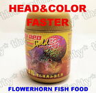 Okiko SUN RED GOLD Flowerhorn Head Color Faster Growth M L Floating Pellet 120g