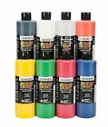 Airbrush Paint - SUPER SIZED AUTO AIR COLORS Transparent Set of 8 bottles