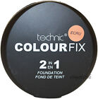 Technic Colourfix 2 In 1 Cream Foundation & Face Powder Compact Make Up Quality