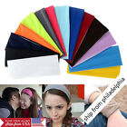 Women Men Sport Sweat Sweatband Headband Yoga Gym Stretch Hairband *USA Seller*