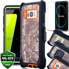 SAMSUNG GALAXY S8 / S8 Plus Clip Case Shockproof Tempered Glass Screen Protector