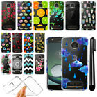 For Motorola Moto Z Play Droid XT1635 Slim Soft TPU Clear Case Cover + Pen