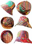 Bright Summer Bucket Hat Aztec Colourful Festival Summer Floral Neon Men Women