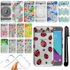 For Samsung Galaxy J3 Emerge J327 2nd Gen Slim Soft TPU Clear Case Cover + Pen