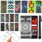 For ZTE Grand X4 Z956 Z957 Damon Slim Soft TPU Silicone Clear Case Cover + Pen
