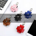 Portable Genuine Leather Hang Case Cover Pouch FIT for Apple AirPod Charging BOX
