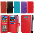 For LG G6 H873 US997 LS993 VS998 AS993 Flip Card Holder Wallet Cover Case + Pen
