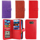 For Samsung Galaxy S7 Active G891 Card Holder Cash Slot Wallet Cover Case + Pen