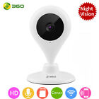 360 WIFI Wireless Home Security IP Camera Face Recognition Night Vision HD 1080P
