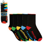 Mens 5 Pack Week Day Casual Full Length Office Socks Cotton Rich Size 7-11