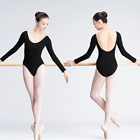 WMRA7# Women's Dancewear Backless Ballet Leotard Unitard 2 Colors 5 Sizes