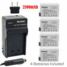 Battery & Charger Combo For Canon LP-E8 EOS 550D 600D 700D Rebel T2i T3i T4i T5i