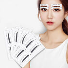 8 Pairs Eyebrow Thrush Card Auxiliary Tools Mold Make Up Shaping Beauty Stencils