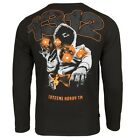 """LONG SLEEVE T-SHIRT EXTREME HOBBY HOOLIGANS """"ALWAYS CARRY A BIBLE"""" 100% COTTON"""