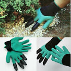 Hot NEW Garden Gloves For Digging&Planting with4 ABS Plastic Claws Gardening